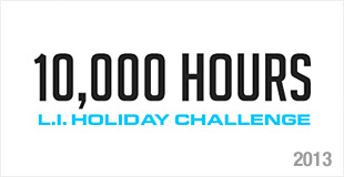 10,000 Hours L.I. Holiday Challenge - 2013