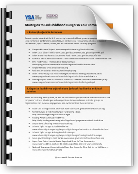 Strategies to End Childhood Hunger
