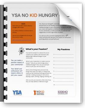 YSA - No Kid Hungry Guide