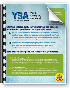 YSA - Youths Changing the World