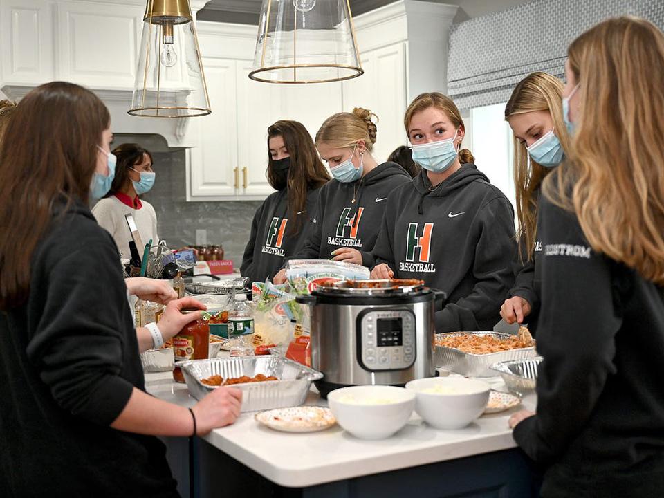 Hopkinton High School girls' basketball team